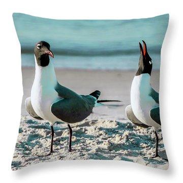 Seagull Serenade 4954 Throw Pillow