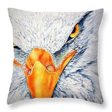 Seahawk Throw Pillow