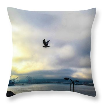 Seahawkin Throw Pillow