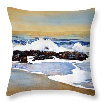 Seamist Throw Pillow