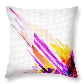 Seamless Honeycomb Pattern Throw Pillow by Setsiri Silapasuwanchai