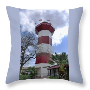 Seapines Lighthouse Throw Pillow