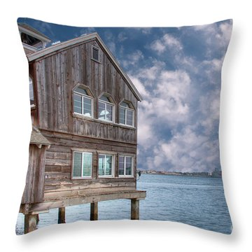 Seaport Village Throw Pillow