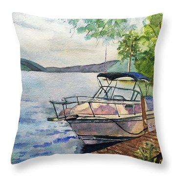 Seaquel At Rest Throw Pillow