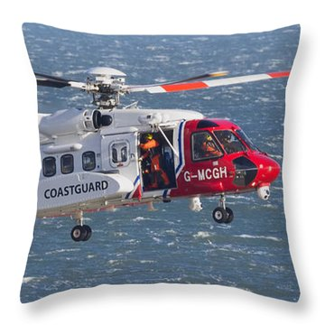 Search And Rescue 2 Throw Pillow