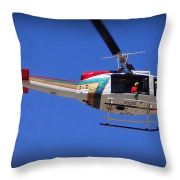 Search And Rescue Mission Throw Pillow