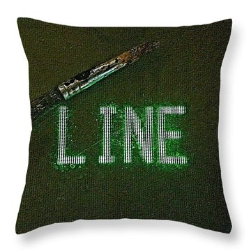 Search Engines Crawl For Text Throw Pillow