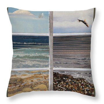 Searching For Freedom Throw Pillow