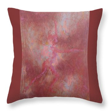 Searching For My Soul Throw Pillow by Emily Page