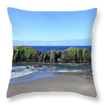 Seascape Supreme Throw Pillow by Will Borden
