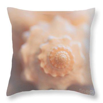 Seashell Dream Throw Pillow