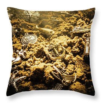 Seaside Of Creative Charms Throw Pillow