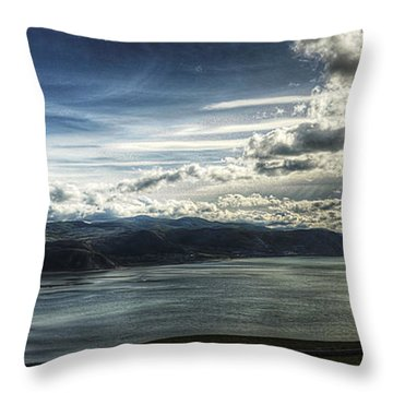 Seaside Throw Pillow by Svetlana Sewell