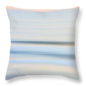 Seaside Waves  Throw Pillow