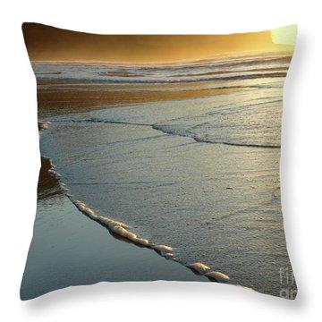 Seasideoregon05 Throw Pillow