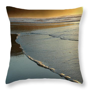 Seasideoregon05 Throw Pillow