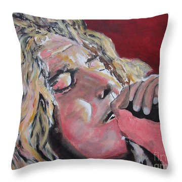 Season Of Emotions Throw Pillow by Stuart Engel