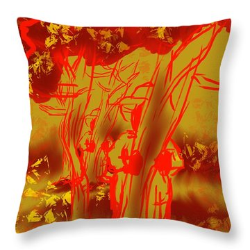 Seasonal Mystery Throw Pillow