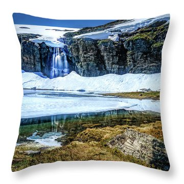 Throw Pillow featuring the photograph Seasonal Worker by Dmytro Korol