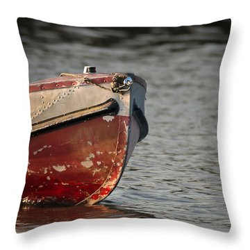Seasoned Bow Throw Pillow by Allen Biedrzycki