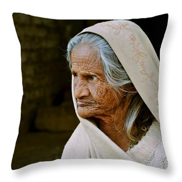 Seasoned Elegance Throw Pillow by Valerie Rosen