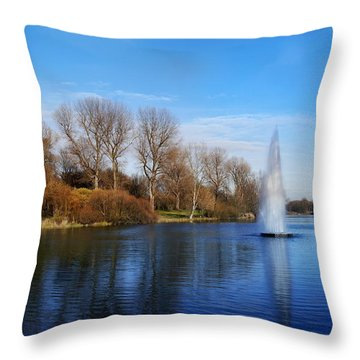 Seasons Throw Pillow by Bernd Hau