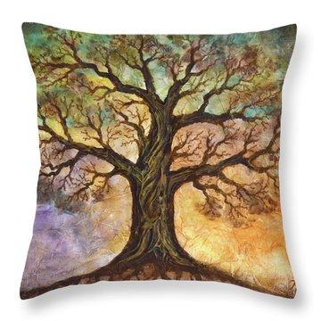 Seasons Of Life Throw Pillow