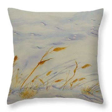 Seasons Past Throw Pillow