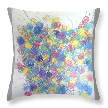 Seasponge Throw Pillow