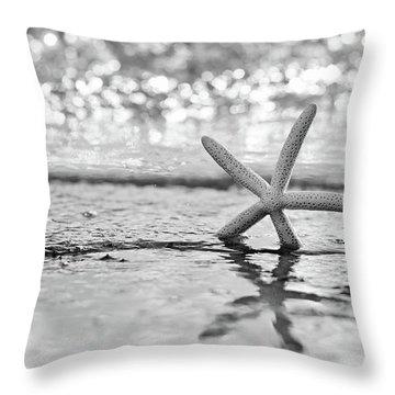 Seastar Seafoam Throw Pillow