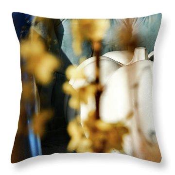 Seated Pumpkin -  Throw Pillow
