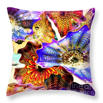 Seattle Glass Throw Pillow