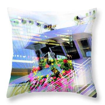 Seattle Washington 3 Throw Pillow