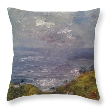 Seaview Throw Pillow