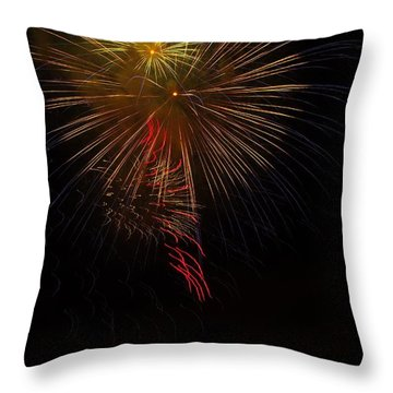 Seaworld Fireworks 3 Throw Pillow
