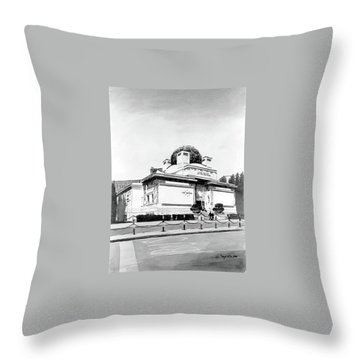 Secession Throw Pillow