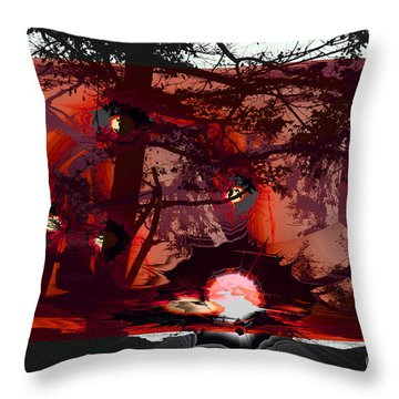 Sechelt Sunset 5 Throw Pillow