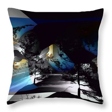 Sechelt Tree 11 Throw Pillow