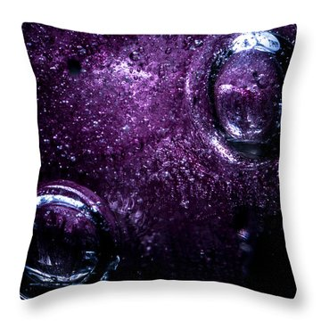 Throw Pillow featuring the photograph Second by Eric Christopher Jackson