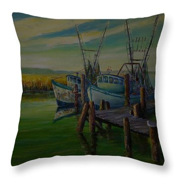 Second Generation Throw Pillow