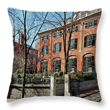 Second Harrison Gray Otis House  Throw Pillow