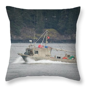 Throw Pillow featuring the photograph Second Wind by Randy Hall