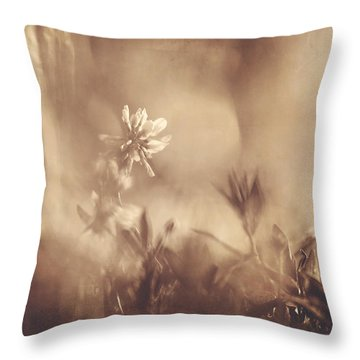 Secret Admirer Throw Pillow by Kharisma Sommers