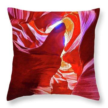 Secret Canyon 1 Throw Pillow