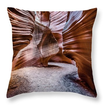 Secret Canyon 3 Throw Pillow