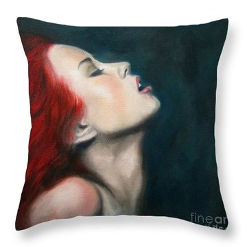 Secret Darling Throw Pillow