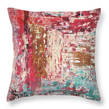 Secret Door Throw Pillow