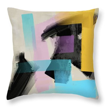 Throw Pillow featuring the mixed media Secret Dreams by Eduardo Tavares