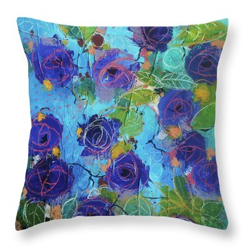 Secret Garden Throw Pillow by Alessandro Andreuccetti