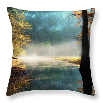 Throw Pillow featuring the photograph Secret Hideaway by Tamyra Ayles